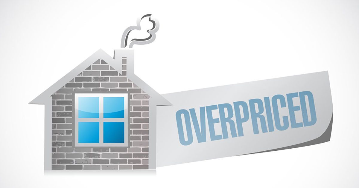 What happens when you overprice your home?